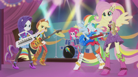 Twilight's friends rocking out on instruments EG2