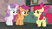 """Apple Bloom """"never would've gone through with"""" S7E8"""