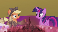 Applejack --you and I bein' friends-- S5E25