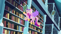 Cadance tries to find the book S6E2