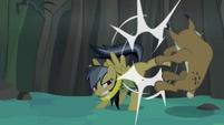 Daring Do kicking lynx S4E04