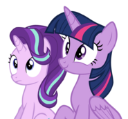 FANMADE Starlight and Twilight transparent