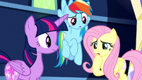 """Fluttershy """"it must be a really important one"""" S8E15"""