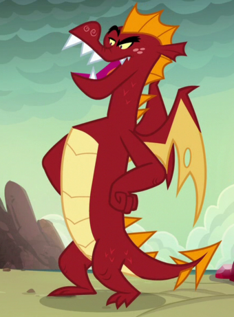 List Of Non Pony Characters Dragons My Little Pony Friendship Is Magic Wiki Fandom