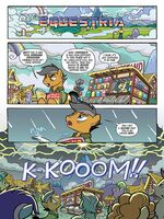 My Little Pony Transformers issue 1 page 1
