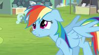 """Rainbow Dash """"hold on a sec"""" S4E22"""