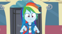 Rainbow Dash agreeing with Twilight Sparkle's plan SS13