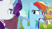 """Rainbow Dash confused """"he was?"""" S8E17"""