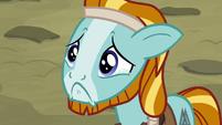 Rockhoof looking incredibly sad S7E16