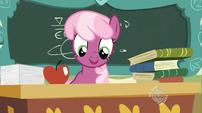Cheerilee at her desk S02E12