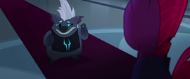 Grubber giving Tempest Shadow the bad news MLPTM