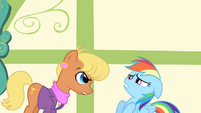 Ms. Harshwhinny scolds Rainbow Dash S4E05
