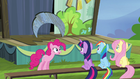 "Pinkie Pie ""And an extra woo for good measure!"" S4E21"