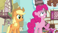Pinkie Pie 'What if somepony else gets the package' S3E07