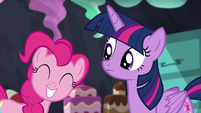Pinkie squeals S5E11
