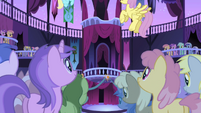 Ponies awaiting the celebration S1E01