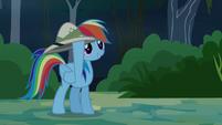 "Rainbow Dash ""I've got your hat!"" S4E04"