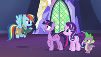 """Rainbow Dash """"does that mean there's bad news?"""" S6E24"""