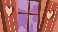 Silhouettes of Sweetie Belle, Scootaloo and Angel S3E11
