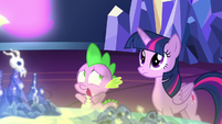 """Spike """"the map is calling me?!"""" S7E15"""