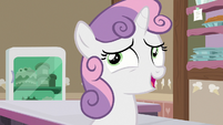 """Sweetie Belle """"from when I was a little filly"""" S7E6"""