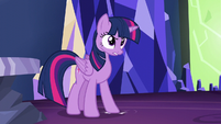 Twilight angrily stamps a hoof S5E22