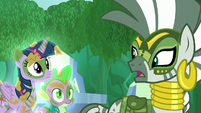Zecora --Chrysalis and her army-- S5E26