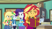 "Applejack ""the whole school voted for her"" EGFF"
