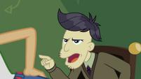 """Cranky Doodle """"you'll get a cramp"""" CYOE10a"""