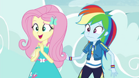 """Fluttershy """"actually kind of fun"""" EGROF"""