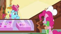Mrs. Cake -Oh, em, Pinkie- S5E19