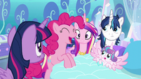 """Pinkie """"AND have crazy baby magic!"""" S6E1"""