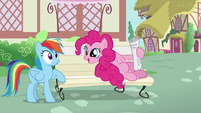 """Pinkie Pie """"I just love to read about"""" S7E18"""
