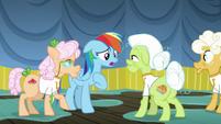 Rainbow Dash apologizes to the grannies S8E5