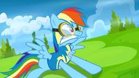 Rainbow Dash having a heart attack S3E7