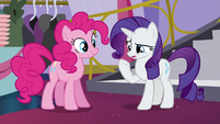 "Rarity ""'nubby scrubby buffy pony pedi"" S5E14"