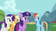 S01E10 Rainbow mówi o pladze w Fillydephi