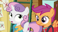 "Sweetie Belle ""something one of us wants to do"" S6E4"