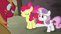 """Sweetie Belle """"you're gonna be her hero!"""" S7E8"""