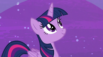 Twilight Sparkle looking at the sky S7E2
