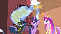 Discord showing a map to Twilight and Cadance S4E11
