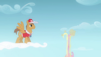 Flight camp instructor watches Fluttershy fall S2E22