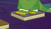 Floor starts to crack at Sunburst's hooves S7E24