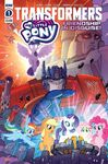 My Little Pony Transformers issue 1 cover A