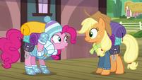 """Pinkie Pie """"I brought yeti food!"""" S6E17"""