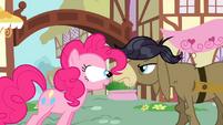 Pinkie Pie eye pop S2E18