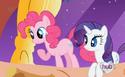 Pinkie Pie missing her upper eyelashes