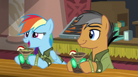 "Rainbow ""I knew the convention would be"" S6E13"