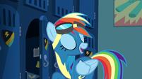 "Rainbow Dash ""couple of improvements"" S6E7"