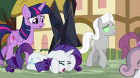 """Rarity """"I can't get her to stop!"""" S9E2"""